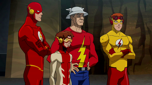 Bloodlines Young Justice Flash Family