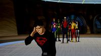 Superboy gets a message