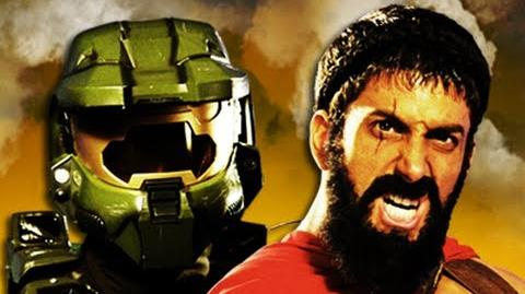 Master Chief vs Leonidas. Epic Rap Battles of History Season 2
