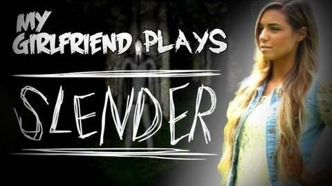 SLENDER - MY GIRLFRIEND PLAYS! - SLENDER - Part 6 - Let's Play