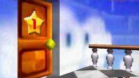 Mario and Peach..