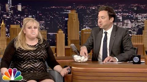 Rebel Wilson Plays Chubby Bunny with Jimmy Fallon