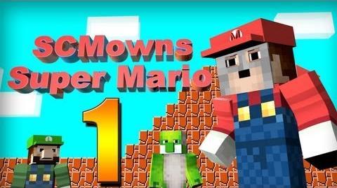 Minecraft - Super Mario Bros Mini-game Part 1!