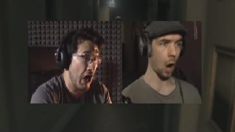 Markiplier and JackSepticEye Simultaneously React to P.T