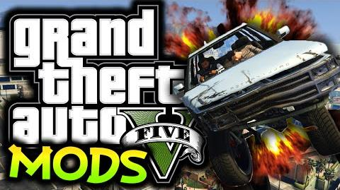 GTA 5 PC - Carmageddon Mod! - (GTA 5 Funny Moments w Mods)