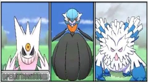 Pokemon X and Y All SHINY Mega Evolutions!