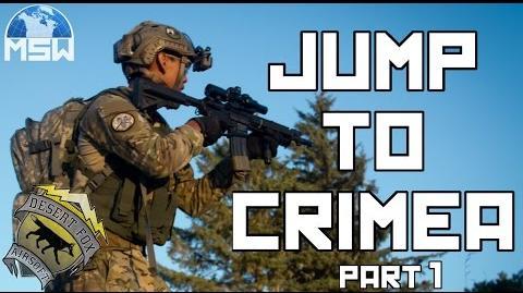 Milsim West Jump To Crimea Part 1 (40 Hour Airsoft Milsim Game)