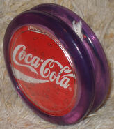 Purple duncan coke yo-yo 1