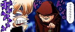 Butler startles Jonouchi