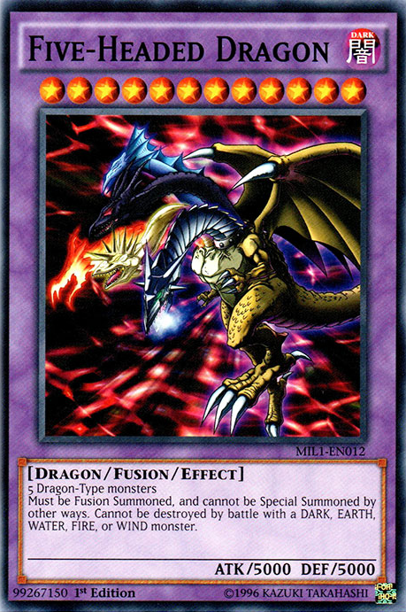Card Trivia:Five-Headed Dragon | Yu-Gi-Oh! | FANDOM ...