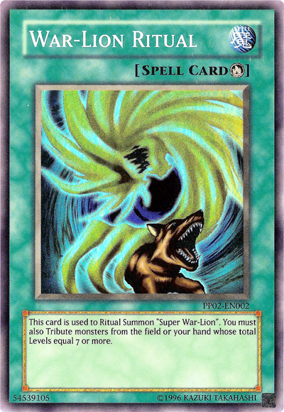 War Lion Yugioh War-lion Ritual