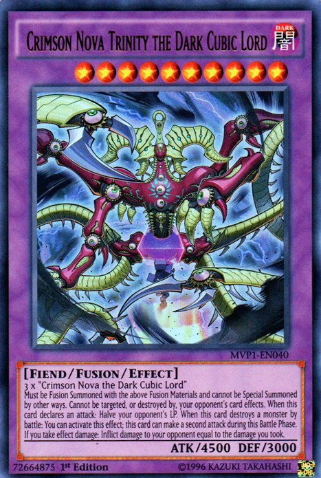 Crimson Nova Trinity the Dark Cubic Lord | Yu-Gi-Oh! | Fandom ...
