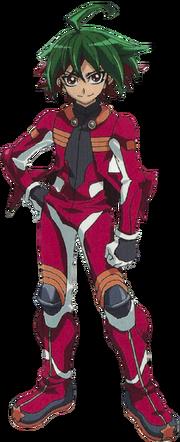 Yuya in Riding Suit