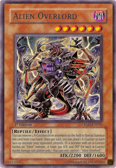 Alien Overlord | Yu-Gi-Oh! | FANDOM powered by Wikia