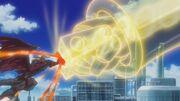 5Dx154 Junk Warrior VS Red Dragon Archfiend