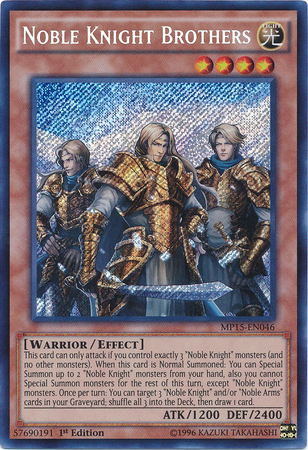 Noble Knight Brothers | Yu-Gi-Oh! | FANDOM powered by Wikia