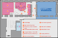 Yugioh worlds 2012 event map