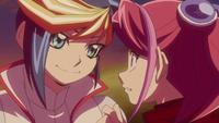 Yuzu surprised at hearing