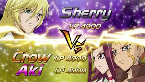 5Dx139 Sherry VS Crow & Aki