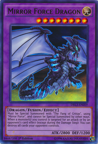 mirror force dragon yugioh fandom powered by wikia