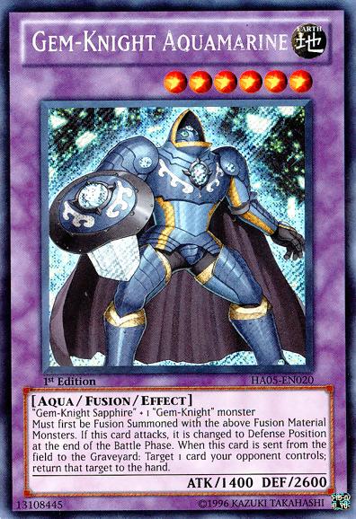 Gem-Knight Aquamarine | Yu-Gi-Oh! | FANDOM powered by Wikia