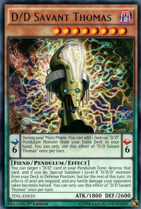 D/D Savant Thomas | Yu-Gi-Oh! | FANDOM powered by Wikia