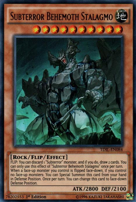 Subterror Behemoth Yu Gi Oh Fandom Powered By Wikia