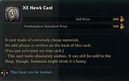 Yu-Gi-Oh! in Vindictus XE Hawk Card