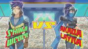 Arc V Shinji vs Moon