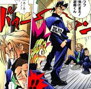 YGO-001 Jonouchi and Honda beaten