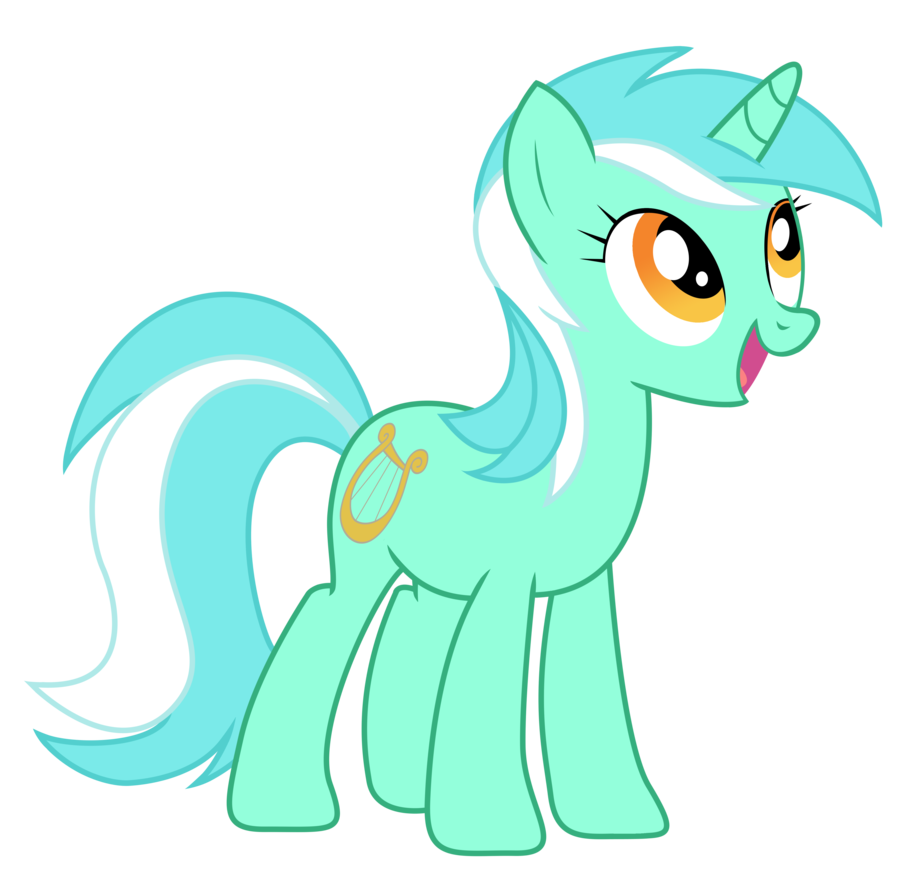 Lyra Heartstrings with ponytails in socks by Zuko42 | My Little ...