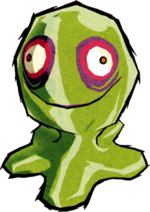 Green ChuChu (The Wind Waker)