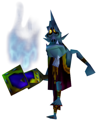 File:Majora's Mask Mini-Boss Wizrobe (Render).png