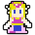 Hyrule Warriors Legends 8-bit Sprites 8-Bit Toon Zelda (Adventure Mode Sprite).png