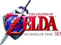 The Legend of Zelda - Ocarina of Time 3D (logo).png