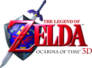 The Legend of Zelda - Ocarina of Time 3D (logo)