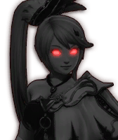 Hyrule Warriors Lana Dark Lana (Dialog Box Portrait)