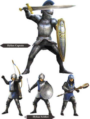 File:Hyrule Warriors Allied Units Hyrulean Soldiers (Render).png