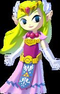 The Wind Waker HD Artwork Princess Zelda (Official Artwork)