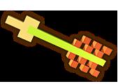 File:Hyrule Warriors Demon Blade 8-Bit Arrow (8-bit Demon Blade).png