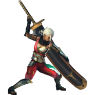 Hyrule Warriors Impa Standard Outfit (Master Quest - Oracle series Impa Recolor)