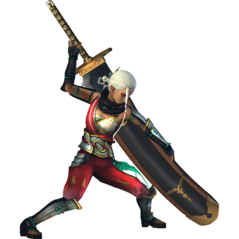 File:Hyrule Warriors Impa Standard Outfit (Master Quest - Oracle series Impa Recolor).png