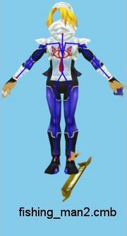 Majora's Mask 3D Fisherman Beta Sheik (Render)