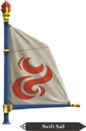 Hyrule Warriors Legends Sail Swift Sail (Render)