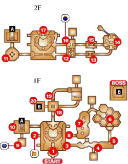 Dodongo's Cavern Map