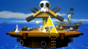Super Smash Bros. for Wii U Pirate Ship (The Wind Waker) Omega Form (Pirate Ship)