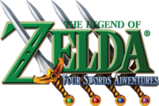 The Legend of Zelda - Four Swords Adventures (logo)