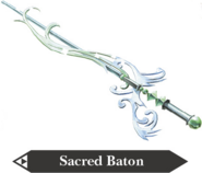 Hyrule Warriors Baton Sacred Baton (Render)