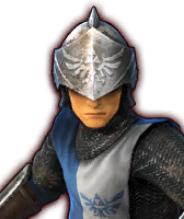 Hyrule Warriors Captains Hylian Captain - Soldier (Dialog Box Portrait)
