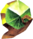 Kokiri's Emerald Artwork